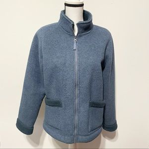 For The Republic Navy Teddy Cold Weather Jacket